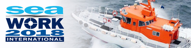 Innovative marine solutions and extensive service and repair capabilities on display at Seawork 2018