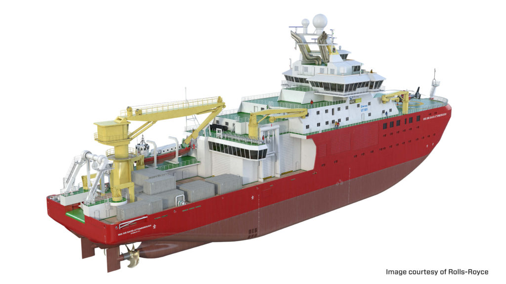 Sir David Attenborough Polar Research Vessel