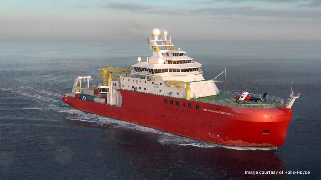 Sir David Attenborough Polar Research Vessel