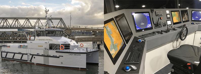 Catamaran control vessel