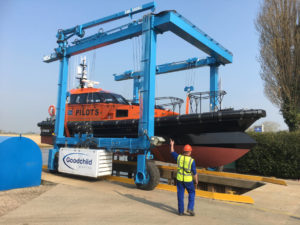 first hybrid pilot boat