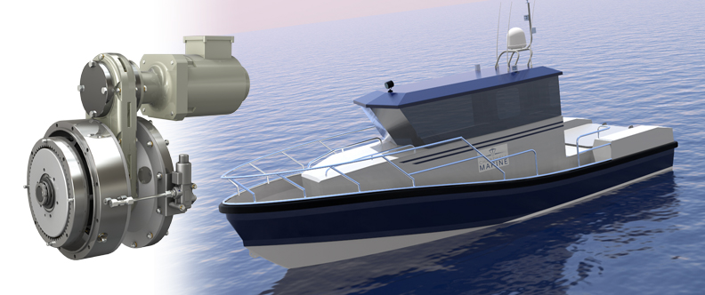 Wight Shipyard Co hybrid patrol vessel  – Clean and low cost