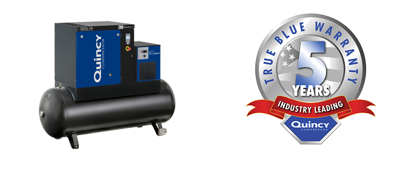Quincy compressor introduces new CE approved screw compressor