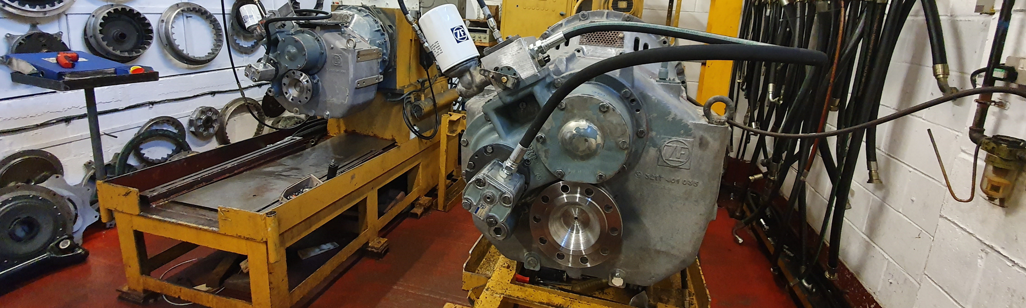 ZF Marine Gear Overhaul
