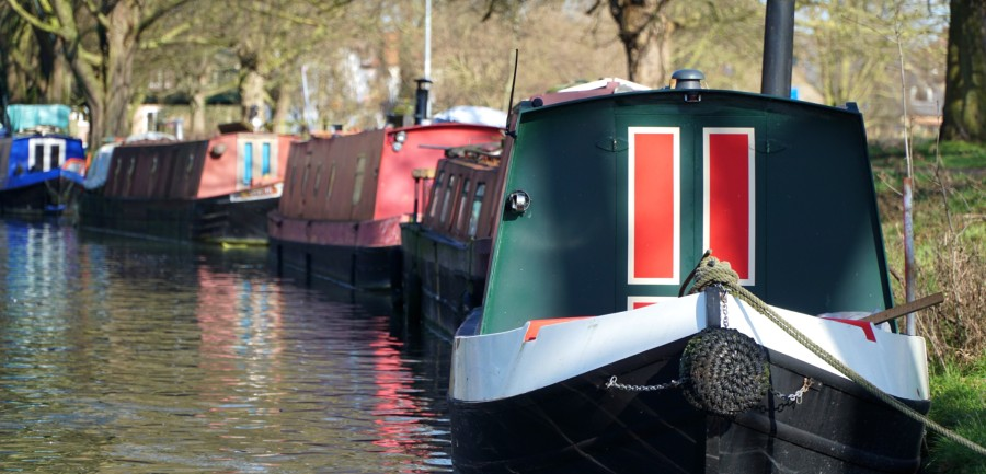 Narrow Boat Electric Motor