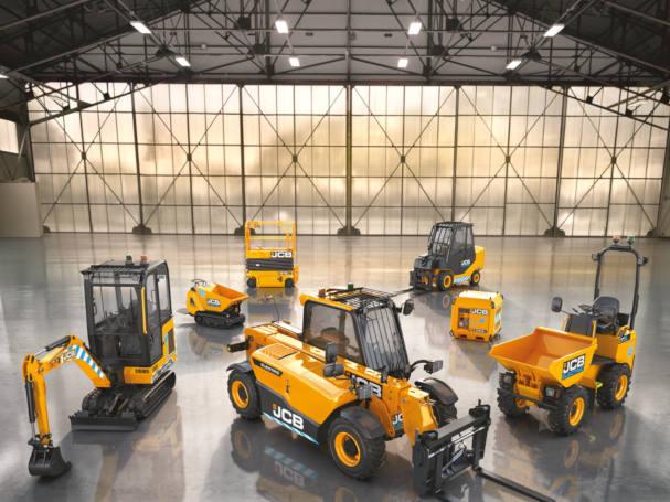 JCBs electric e-tech range