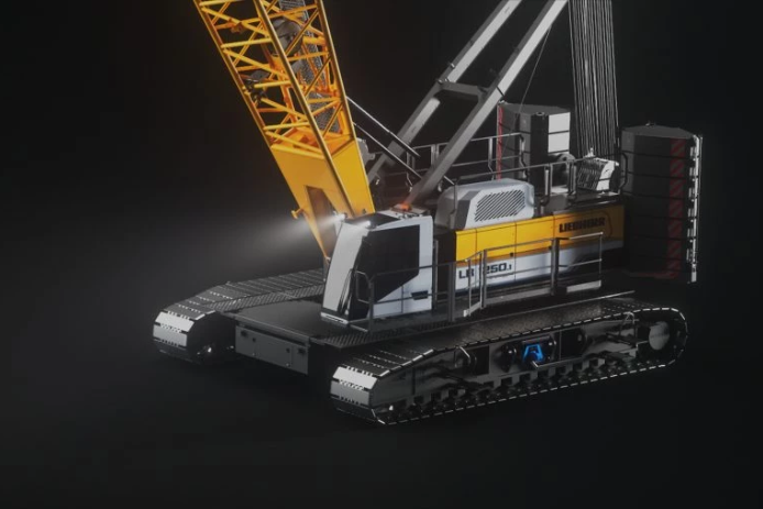 The World's First Battery-Powered Crawler Crane Has Arrived From Liebherr